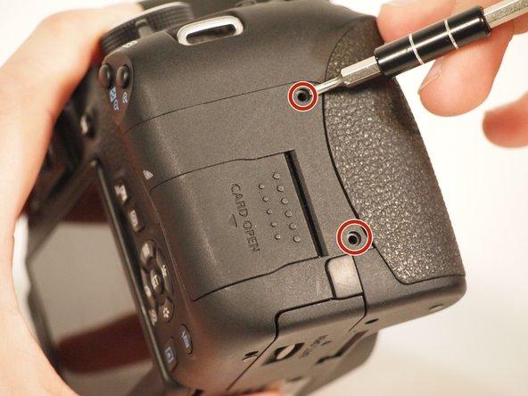 Remove all visible exterior screws: