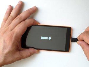 微软Lumia 535恢复出厂设置,删除锁屏密码