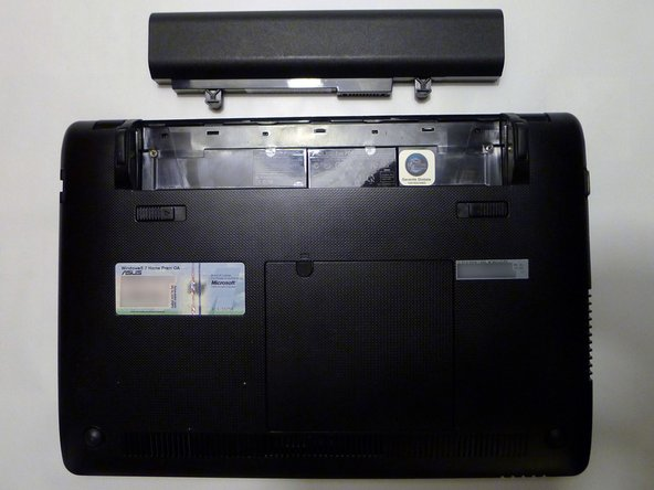Asus Eee PC 1215N Battery Replacement