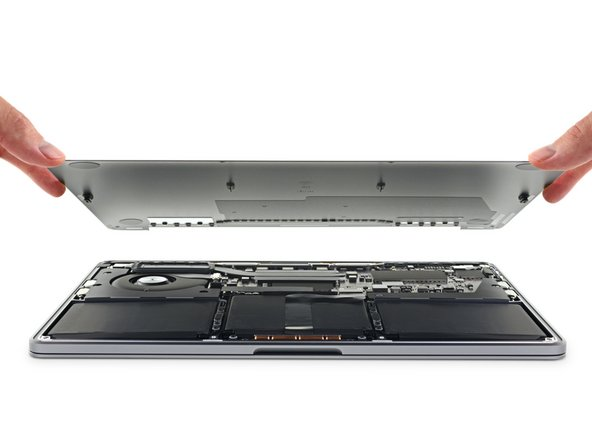 """MacBook Pro 13"""" Two Thunderbolt Ports 2020 Lower Case Replacement"""