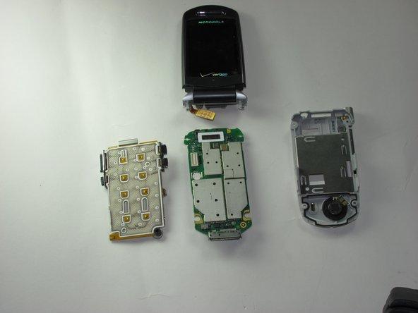 Motorola V710 Logic Board Replacement
