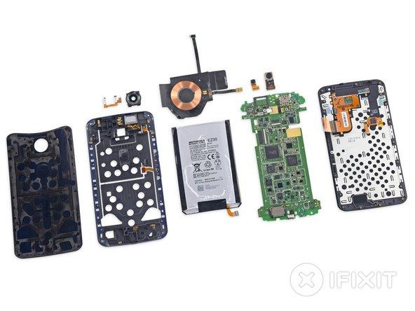 Motorola Nexus 6 Repairability Score: 7 out of 10 (10 is easiest to repair).