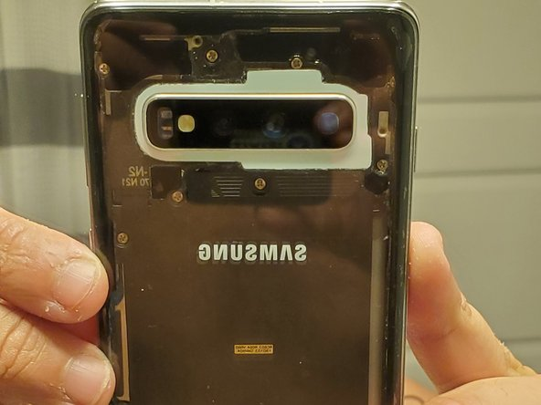 How to make a Galaxy S10 clear back glass