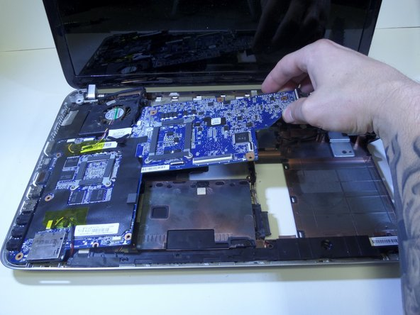 HP Pavilion dv6-6180us Motherboard Replacement