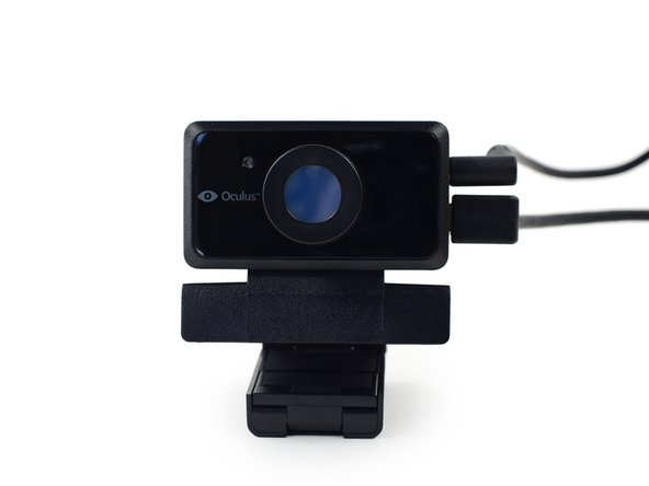 The DK2 includes a brand-spanking-new positional tracking unit. Essentially, it's a custom-made external IR camera, specially designed to work with the new Development Kit.