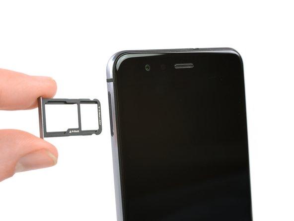 Sostituzione vassoio scheda SIM Huawei P10 Lite