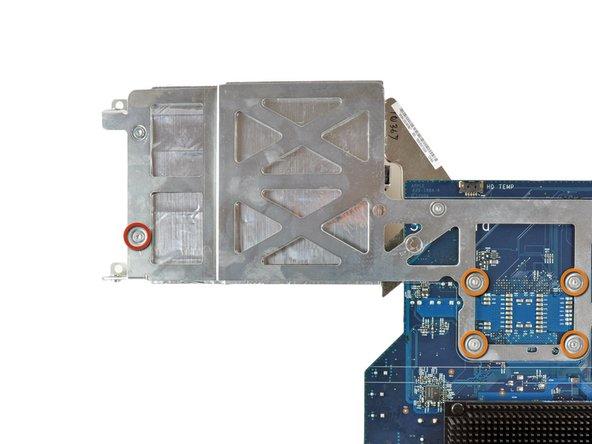 Flip the logic board over so it is heat sink side down.
