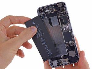 iPhone6のバッテリーの交換