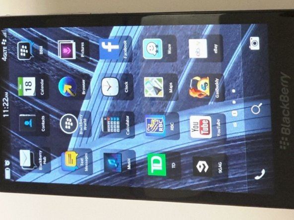 BlackBerry Z30 Display Assembly Replacement