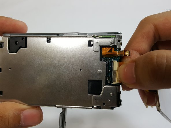 Grasp the no-fuss ribbon cable and gently pull it out from the motherboard.