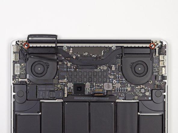 "MacBook Pro 15"" Retina Display Mid 2012 Display Assembly Screws Replacement"