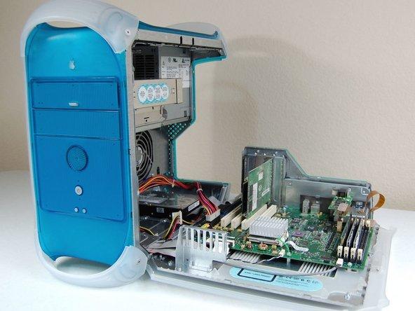 Power Macintosh G3 Blue and White PRAM Battery Replacement