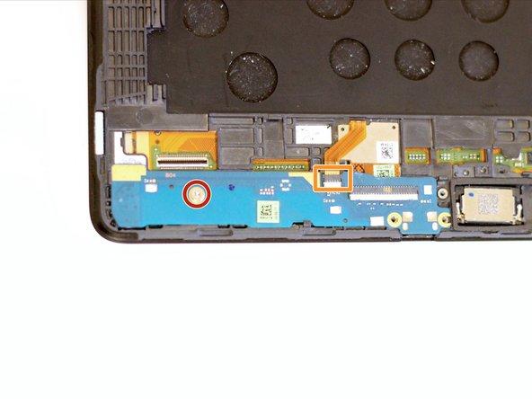 Remove the single 3mm T5 Torx screw.