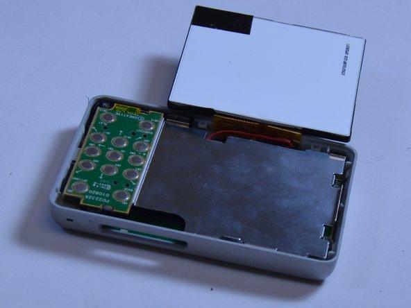 Replacing Creative Zen X-Fi Button Input Chip