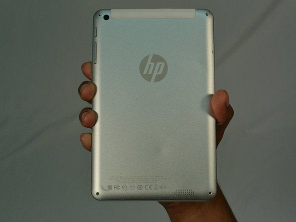 HP 7 Plus 1302 Back Cover Replacement
