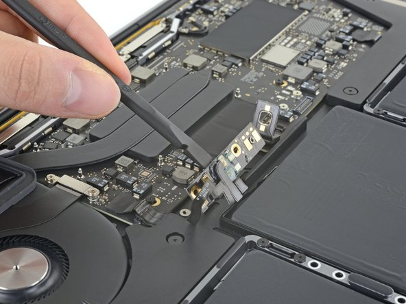The battery board is permanently attached to the battery. Check to make sure it has adequate clearance to come out together with the battery, without snagging on other components.