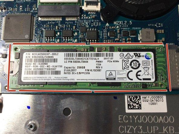 Lenovo Yoga 720 SSD Replacement