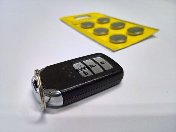 Honda civic 2016 Keyless Remote Battery Replacement