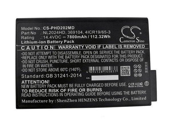 Hamilton-C3 Battery Replacement