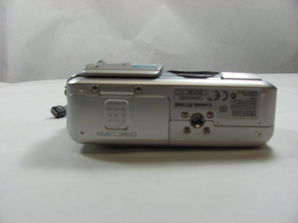 Canon PowerShot S50 Front Panel/Battery Door Replacement