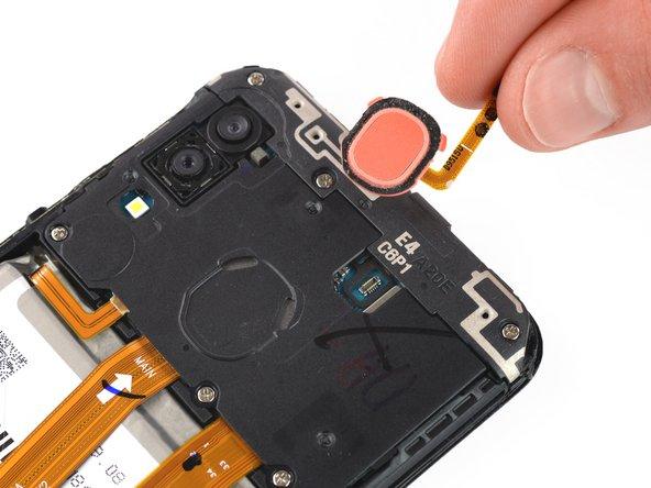 Remplacement du lecteur d'empreintes digitales du Samsung Galaxy A20e