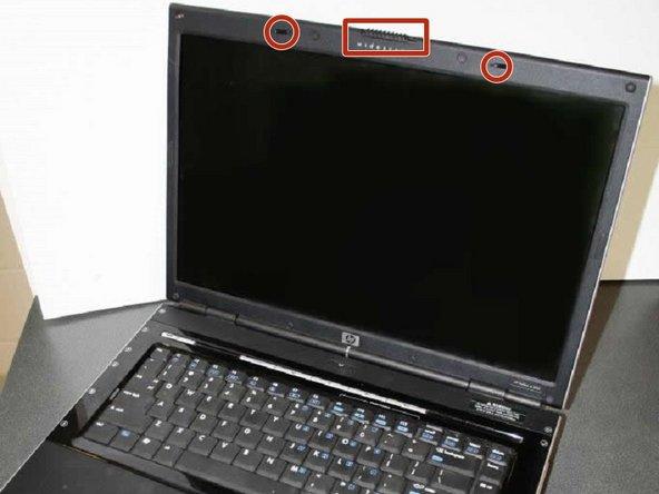 HP Pavilion dv5000 Screen Lock Mechanism Replacement