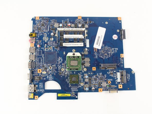 Gateway NV52 Motherboard Replacement