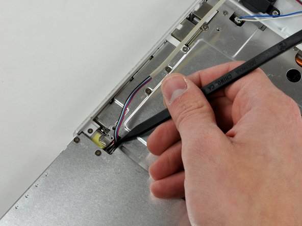 The connectors at the ends of the following cables are attached very firmly to the sockets on the logic board. Pulling directly on the cable will either separate the cable from its connector or the socket from the logic board.