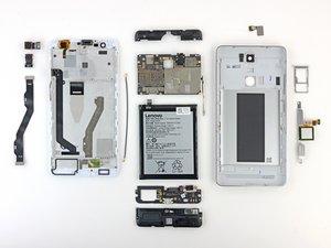 Lenovo K5 Note Repairability Assessment