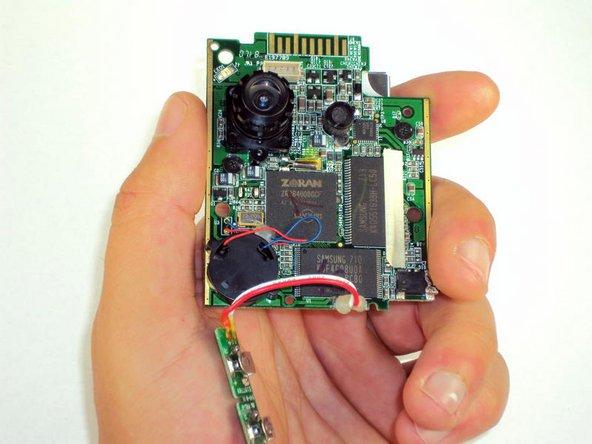Disassembling Flip Video Circuit Board