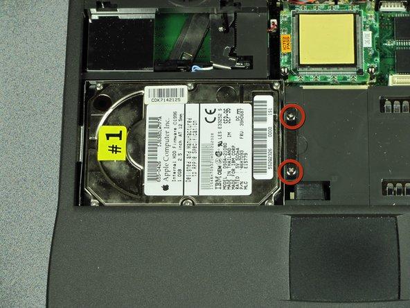 Macintosh PowerBook 1400 Series Hard Drive Replacement