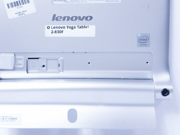 Remplacement de la carte mère du Lenovo Yoga Tablet 2 830-F