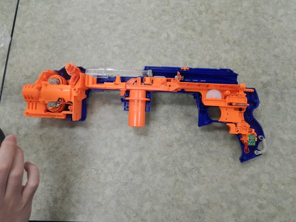 Nerf N-Strike Elite Hail-Fire Left Shell Replacement