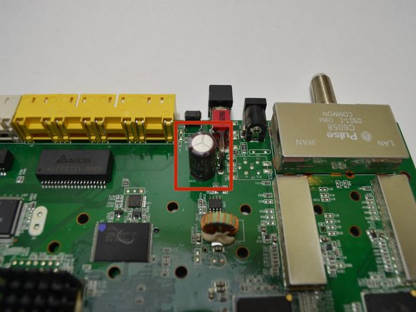 Verizon M1424WR Capacitor Replacement