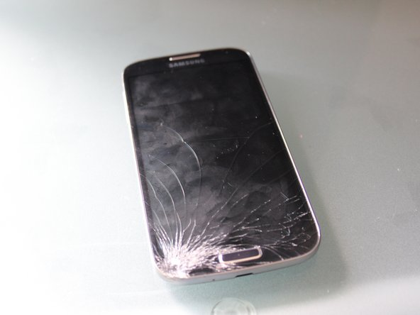 Samsung Galaxy S4 Cracked Front Glass Replacement