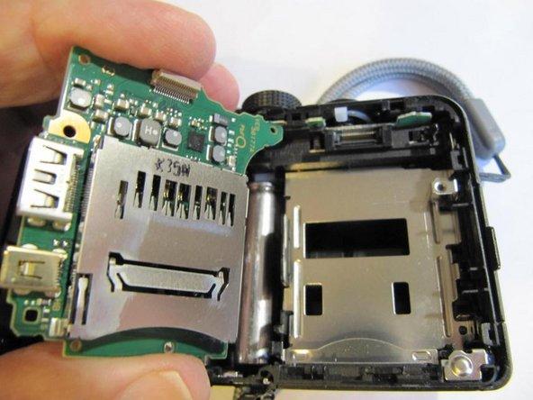 Panasonic Lumix DMC-TZ35  Logic board removal/replacement
