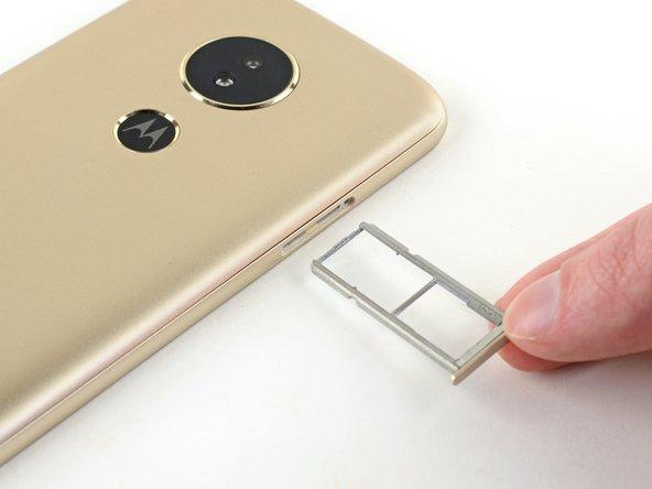 Motorola Moto E5 SIM Card Tray Replacement