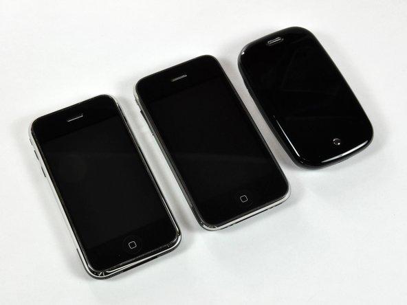 The lineup: Apple iPhones vs. Palm Pre