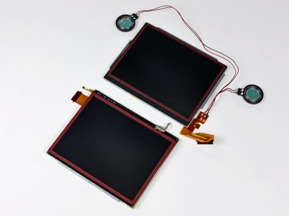 The DSi XL's twin supersized screens.