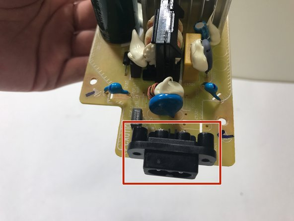 Sony GTK-XB5 AC Input Jack Replacement