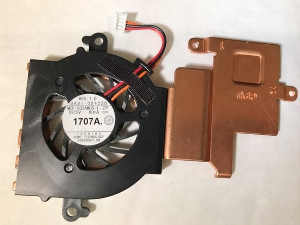 Samsung NP-N145-JP02US Fan Replacement