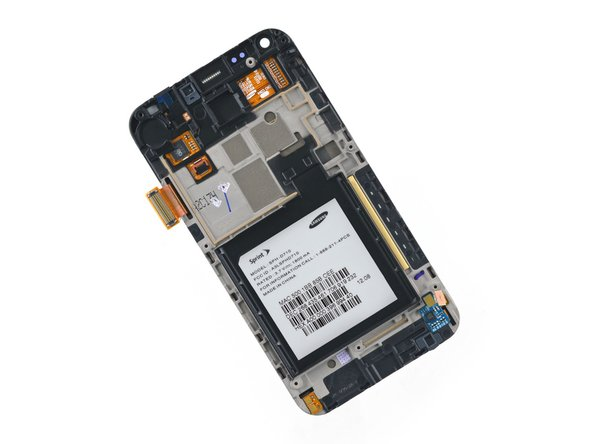 Samsung Epic 4G Touch Front Panel Assembly Replacement
