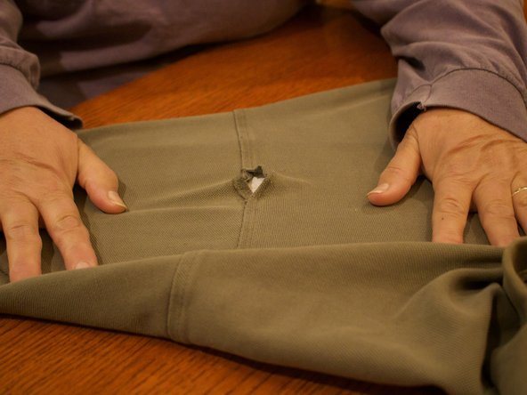 How to Repair a Hole in a Shirt