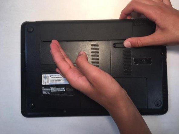HP Pavilion DM4 Hard Drive  Replacement