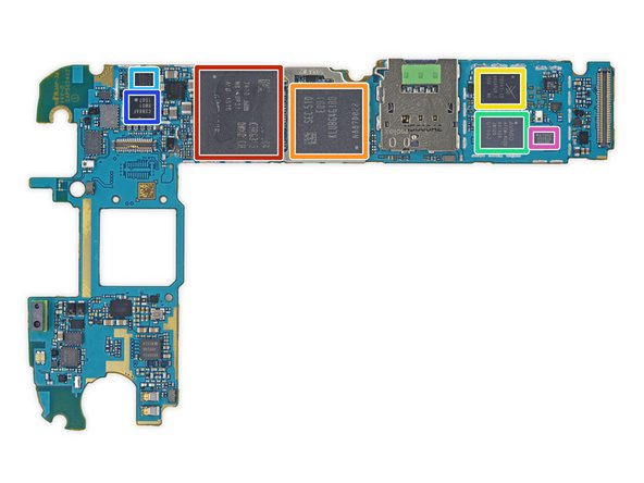 We scope out the back side of the motherboard first, and find some familiar heavy hitters: