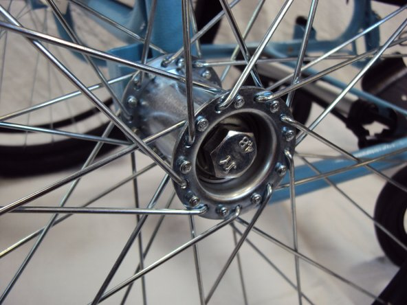 How to fix squeaking on the GEN 2 Wheelchair