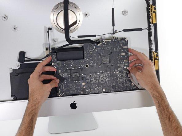 "iMac Intel 27"" EMC 2639 Logic Board Replacement"