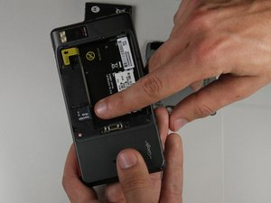 Motorola Droid X Rear Housing