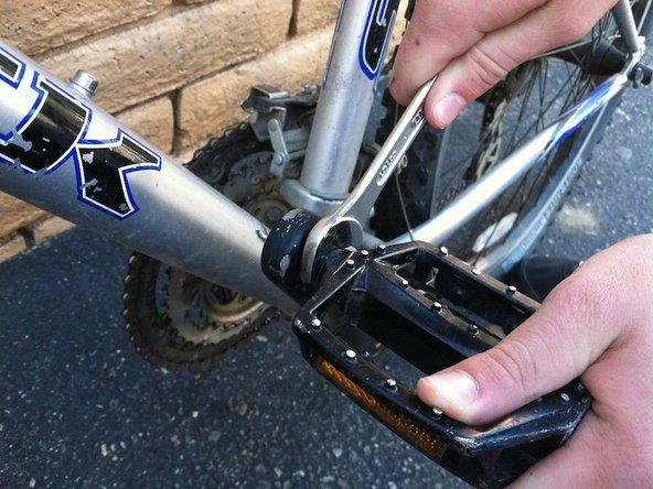 Trek 820 Pedal Replacement