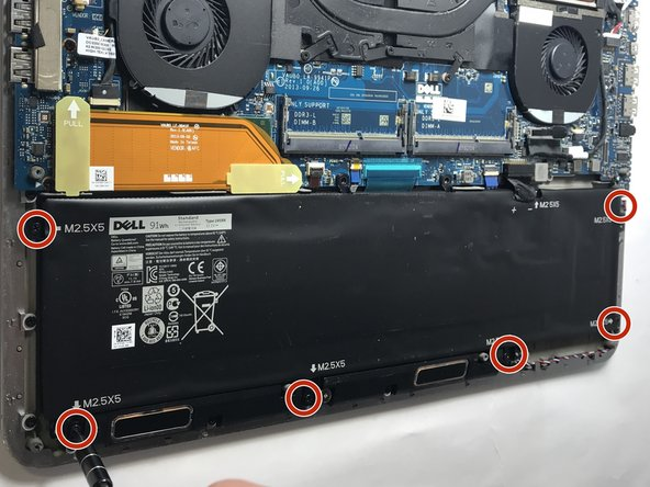 Dell XPS 15 9530 Battery Replacement